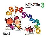 Números 5 años. Matematítico.Cuaderno 3 - 9788467381337