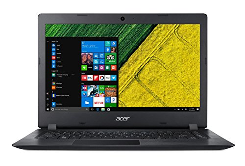 "Acer A114-31-C3MM Aspire 1 - Ordenador portátil de 14"" HD (Intel Celeron N3350, 4 GB de RAM, 32 GB eMMC, Intel HD Graphics, Windows 10S) negro - Teclado QWERTY Español [España]"