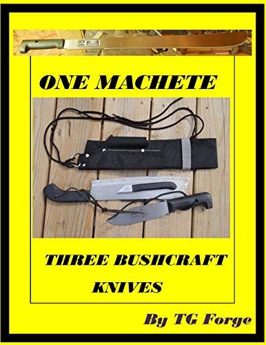 One Machete, Three Bushcraft Knives: Making Three Bushcraft knives from one machete and combining them into one sheath.