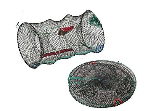 Fineway, trappola a rete per la pesca con esca viva di granchi, gamberi, gamberetti, aragoste, anguille