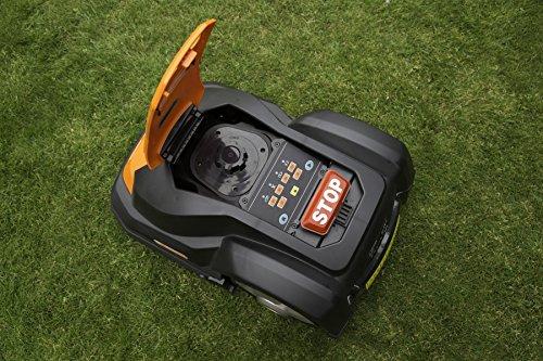 Yard Force SA500ECO Robomower Powered by Samsung Lithium-Ion Battery, Black