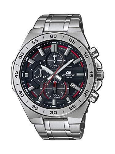 Casio Orologio Cronografo Quarzo Uomo con Cinturino in Acciaio Inox EFR-564D-1AVUEF