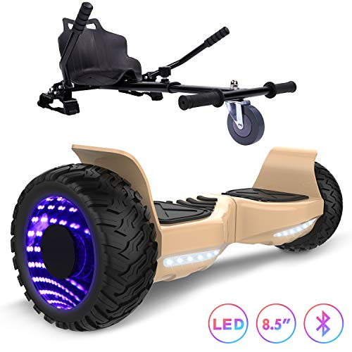 RCB Hoverboard 8,5 pollici con kart SUV Hummer Per tutte le strade Scooter elettrico con Hoverkart
