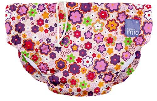 Bambino Mio Costumino contenitivo Unisex Bambini, Multicolore (Fiorellini), 6-12 mesi (7-9 kg)
