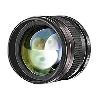 -HINWEIS: Die Kamera ist nicht im Lieferumfang enthalten.    Bitte beachten: Dies ist ein manuelles fixierte Objektiv, was bedeutet, dass es Automatisches Fokussieren nicht ausführt. In der benutzerdefinierten Einstellung der Kamera gibt es die Op...