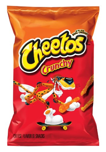 Cheetos Cheese Flavored Snacks, Crunchy, 9.5 Ounce (Pack of 4)