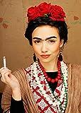 MAGICBOX Kit di Accessori per Abiti Fantasia Frida Kahlo Style