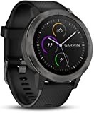 Garmin Vivoactive 3 GPS Smartwatch with Built-In Sports Apps and Wrist Heart Rate, Gunmetal