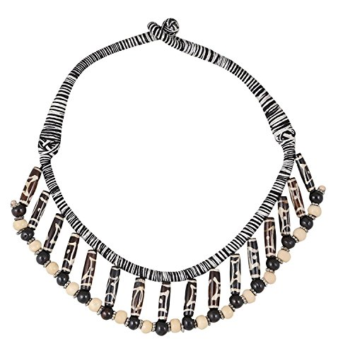Arittra Tribal Design Choker Coffee,brown,Black Necklace handicraft look for Girls and Women brassTribalhandicraftResin Design Silver Multi colour,ethnictraditionaltribalantiqueDesignerfashionstyleNecklaceChokerchainpendant Set with matching earrings for womengirls-Valentine gift,todays,deal,party,casual,discount,offer,sale,clearance,lightning,festival,fashion,wedding,summer
