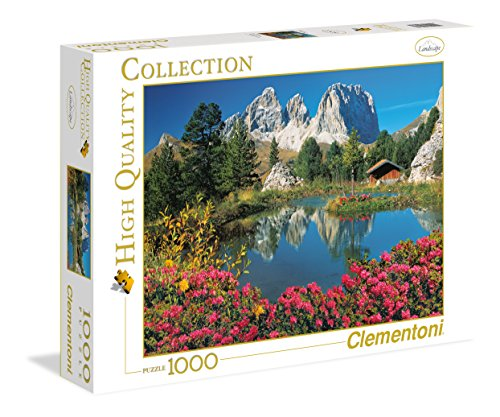 Clementoni 39273 - Passo Pordoi With a View To Sassolungo - Puzzle High Quality Collection 1000...