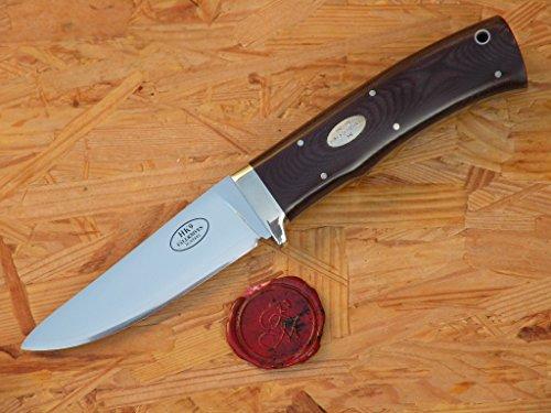 Fällkniven HK9 - Jagdmesser, Griff Maroon