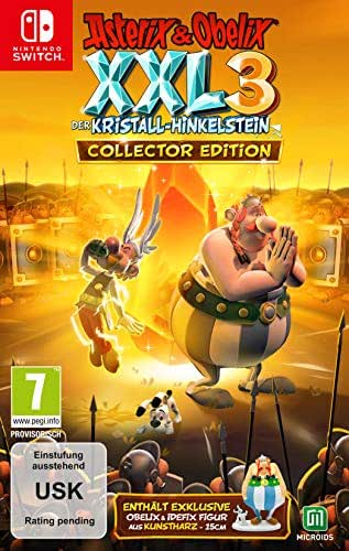 Asterix & Obelix XXL3 - Der Kristall-Hinkelstein - Collector's Edition [