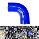 XuBa Haute résistance Intercooler Tuyau Diesel Booster Tube en Silicone pour Ford Focus 1.8Tdci MK1
