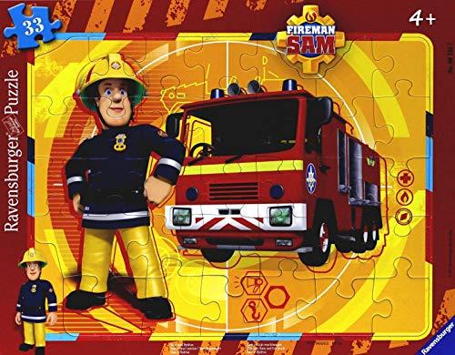 Ravensburger Italy- Sam Il Pompiere Puzzle Incorniciato, 06132 7