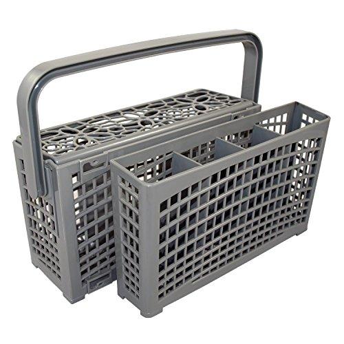 Il cestino per posate originale 2 in 1 universale per tutti i lavastoviglie, stabile connettore,...