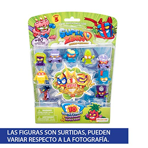 Superzings Blister 10Serie 3Bowser, Colore: Assortito (Magic Box psz3b016in00)