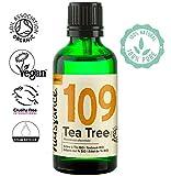 Naissance Aceite Esencial de Árbol de Té BIO n. º 109 - 50ml - 100% Puro, vegano, certificado...