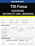 T25 Focus Exercise Activity Log Journal
