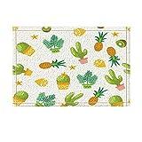 Alfombra Cactus Con Hierbas, Pineapples y Limones