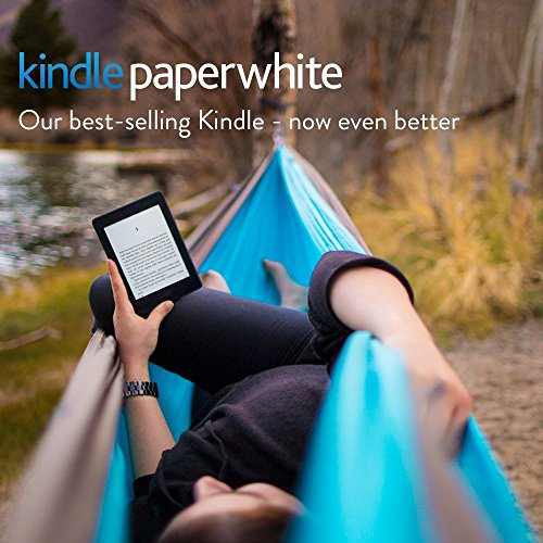 "Kindle Paperwhite 3G (7th gen), 6"" High Resolution Display with Built-in Light, 4GB, Wi-Fi + Free 3G 15"
