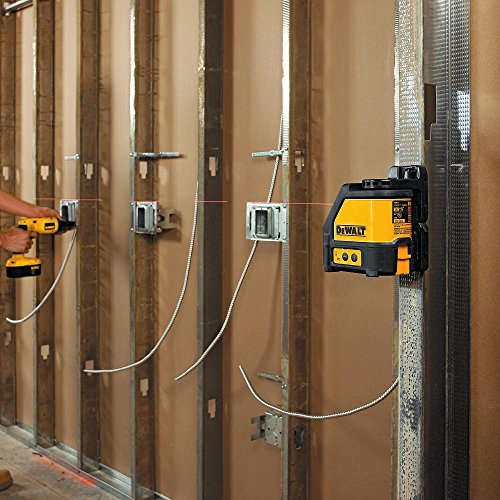 The Dewalt DW088K-XJ Self Levelling Line Laser ticks all the right boxes as far as features and user friendliness are concerned. The tool has a professional, industrial build and it's one of the best-selling on Amazon UK for good reasons. Compact and versatile, this self-levelling tool can be used for laying out cabinets, and levelling walls and floors.
