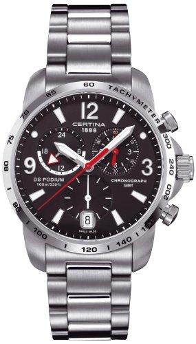 Certina Herren-Armbanduhr XL Chronograph Quarz Edelstahl C001.639.11.057.00
