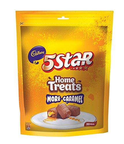 Cadbury 5 Star Chocolate Home Pack, 200g (20 Units)