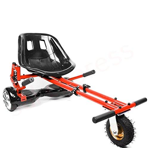 Enyaa, hoverkart regolabile, modello 2018, accessorio per trasformare gli hoverboard con ruote da...