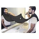 sunwaly Auffangtuch für Haare beim Rasieren, für ein Rasieren ohne Verstopfen Ihres Waschbeckens. Qualitäts-Auffangtuch –Hält Ihr Waschbecken Sauber. Das Beste Bartpflege-Geschenk weiß