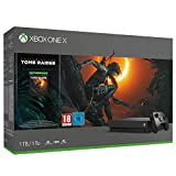 Xbox One X 1TB + Shadow of Tomb Raider + 14gg Xbox Live Gold + 1 Mese Gamepass [Bundle]