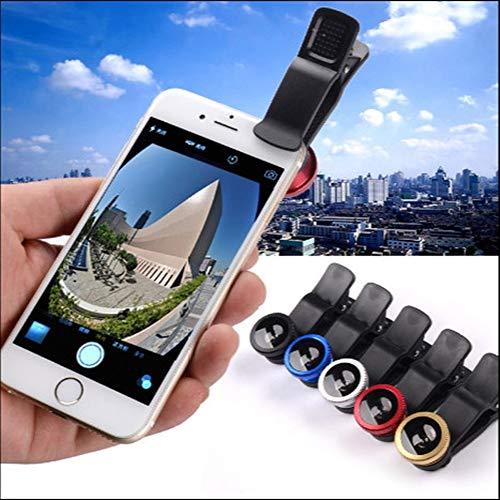 AUED Cellulare Fotocamera Obiettivo 11 in 1 Teleobiettivo Universale 20x Zoom Oculare Lente grandangolare Lente fisheye Treppiede per Occhiali, per la Maggior Parte degli Smartphone
