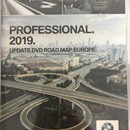 BMW Navi Dvd 2019 Europa Professional Map 1 er 3 er 5
