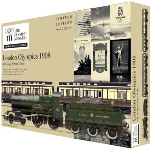 Hornby R2980 London 2012 1908 Games 00 Gauge Limited Edition Train Pack 51ai6xZ5xWL