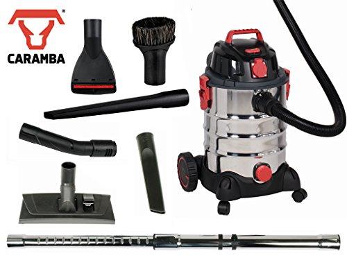 CARAMBA Nass Trocken Sauger AUTO 9.0-1400 Watt ideal für die Auto Innen Reinigung, Polster Sitze Fußmatten Kofferraum sowie zum trocknen und ausblasen geeignet