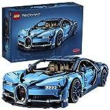 LEGO- Bugatti Chiron, Voiture de Sport Réplique Exclusive Numéro de Série Unique, Modèle à Collectionner Technic Garçon et Fille 16 Ans et Plus, Jeu de Construction, 3599 Pièces, 42083, Multicolore