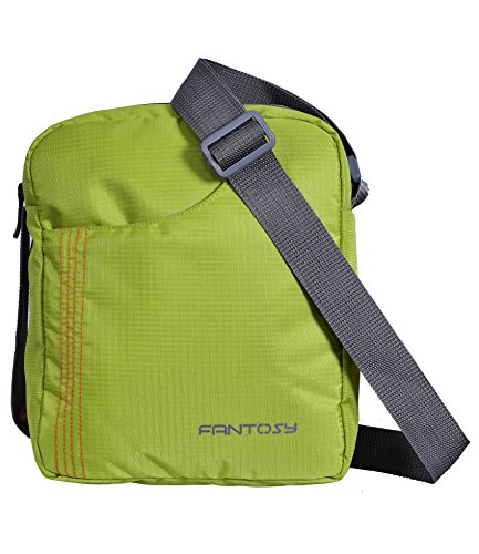 Fantosy men Green polyester slingbag(Green)(MB-014)