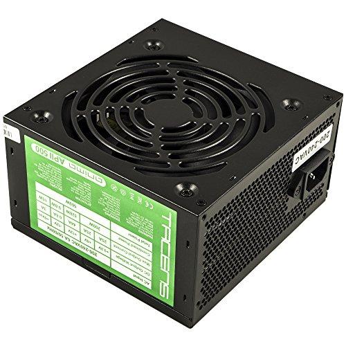 Tacens APII500 Anima Alimentatore per PC, 500W, 12V, Ventilatore 12cm, ATX, Sistema...
