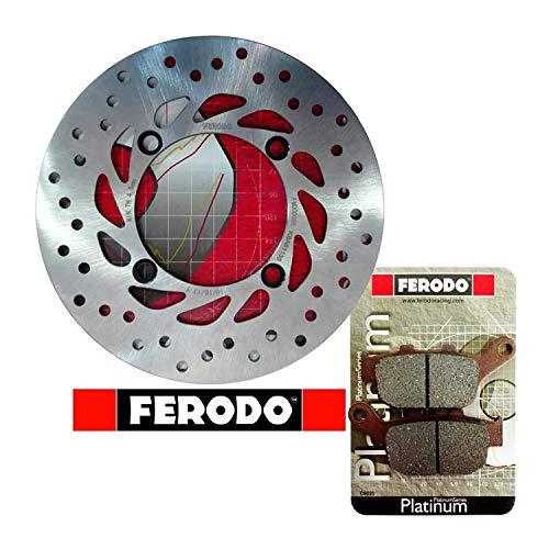 Kit freno posteriore disco pastiglie Ferodo XL 600 650 700 V Transalp