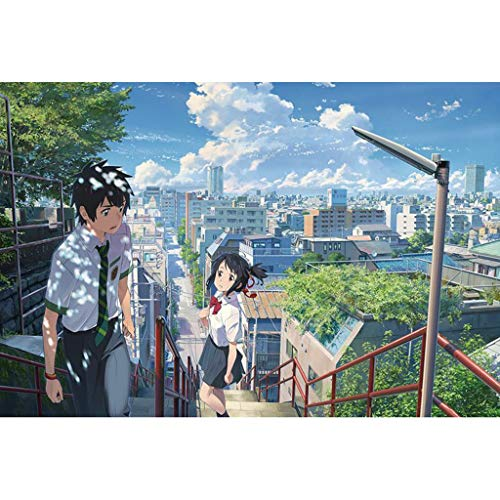 YC-PUZZLE Anime Your Name Puzzle per Bambini, Pezzi 300/500/1000 ( Color : I , Size : 300pcs )