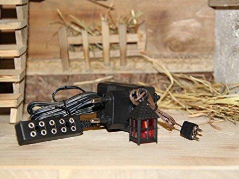 holz und gartentrends krippenbeleuchtung – (kb)-transformador de belén, pesebre belén, luces