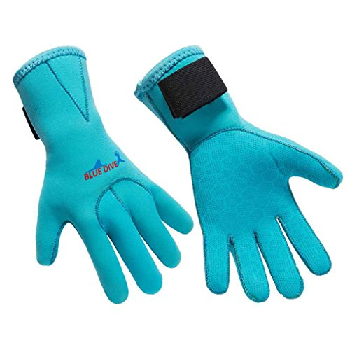 LUFA Muta da Sub Guanti 3mm Diving Guanti in Neoprene a Prova di Skid Five Finger Glove Sport...