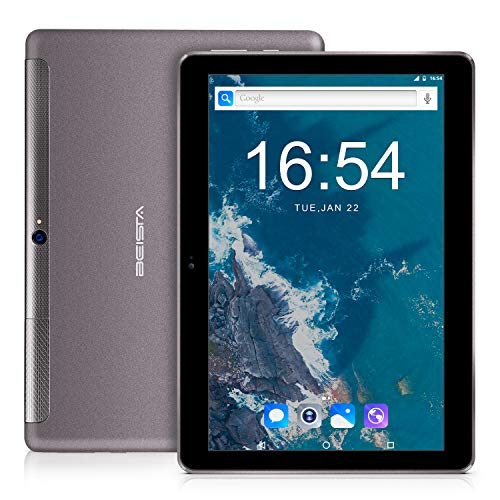 4G Tablet 10 pollici BEISTA-(4G LTE,Wifi, Android 7.0,Quad-core,32GB ROM,2GB RAM,slot scheda SIM...