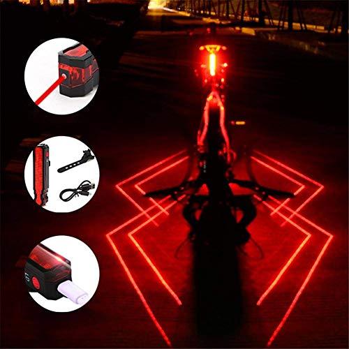 Plextone, fanale Posteriore a LED a 3 modalità, 2 Confezioni, Zaino da Corsa Notturna, Ideale per...