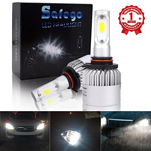 Safego HB3 9005 LED Faro Bulbi Auto LED Luci 8000LM Super Luminosa Lampada con COB Chip per...