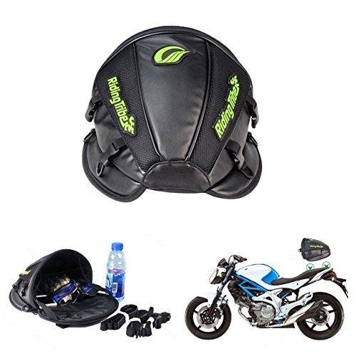 KaTur, borsa da moto, multifunzionale, impermeabile, in poliuretano, borsa per il sedile posteriore,...