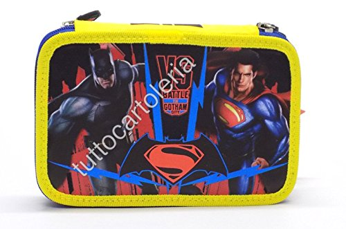 Astuccio 3 Zip Batman VS Superman