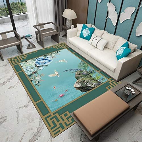 Tappeti e tappetini Stile cinese soggiorno camera da letto tappeto studio arazzo modello comodino...