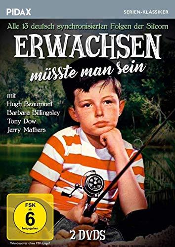 Erwachsen müsste man sein / Alle 13 deutsch synchronisierten Folgen der Kultserie (Pidax Serien-Klassiker) [2 DVDs]