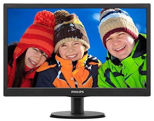 """Phillips Ecran PC LED 18.5"""" 1366x768 16:9 5ms 25"""