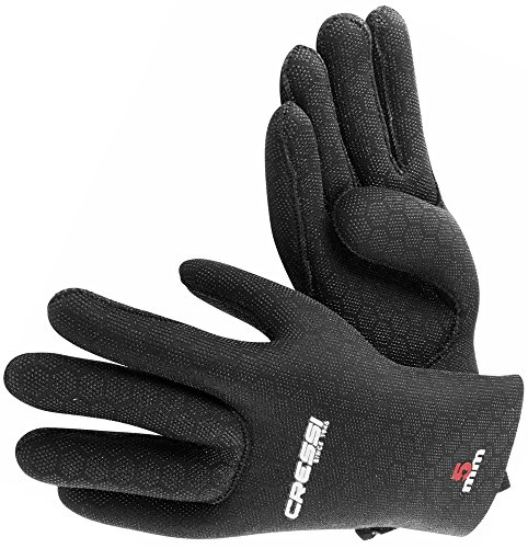 Cressi High Stretch Gloves, Guanti in Neoprene 5 mm per Apnea e Immersioni, Unisex Adulto,...